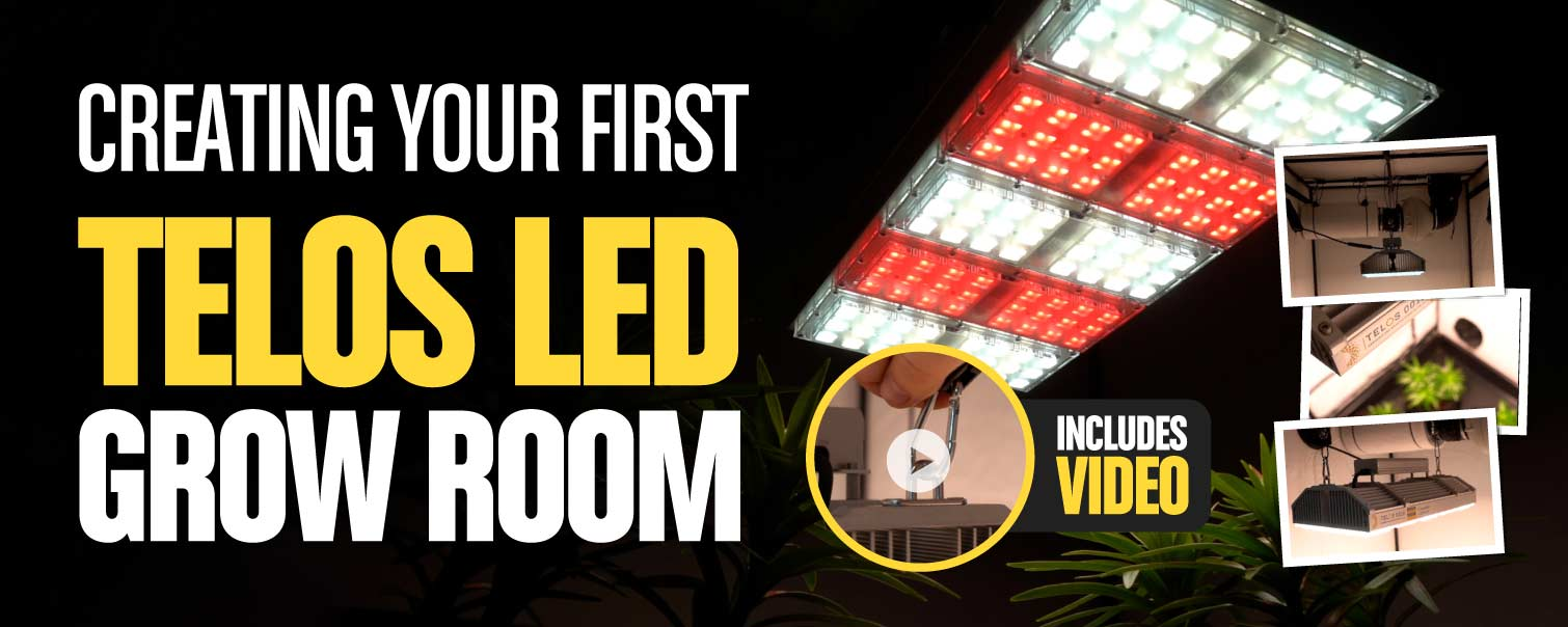 Building Your First Telos LED Grow Room
