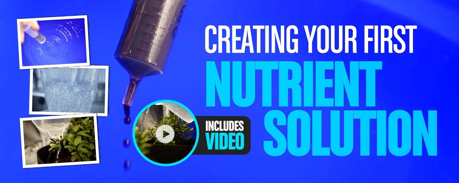 Creating Your First Nutrient Solution