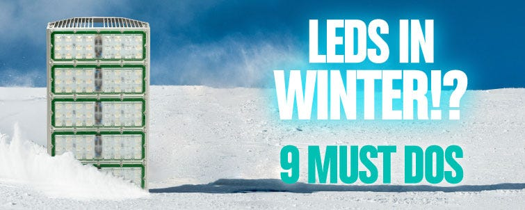 LED Grow Lights in Winter!? 9 Must Dos