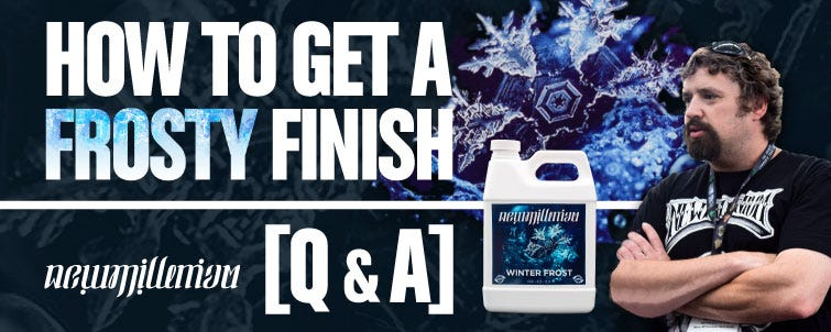 [Q&A] Get a Frosty Finish – How Winter Frost Works