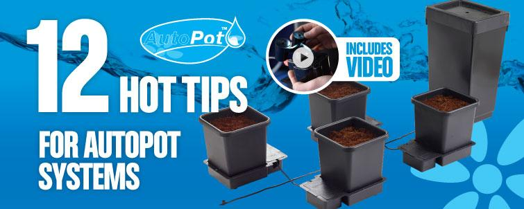 12 Hot Tips for AutoPot Systems