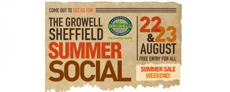 Get yourself down to the GroWell Sheffield Summer Social!