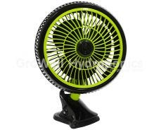 Garden HighPro PROFAN+ Oscillating Clip On Fan - 25cm