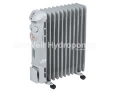 800W Oil-Filled Grow Room Radiator