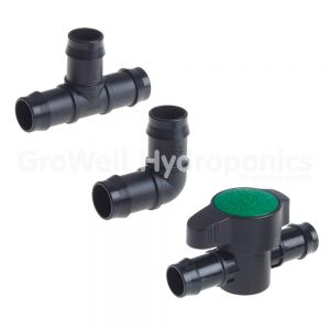 25mm Barbed Irrigation Fittings