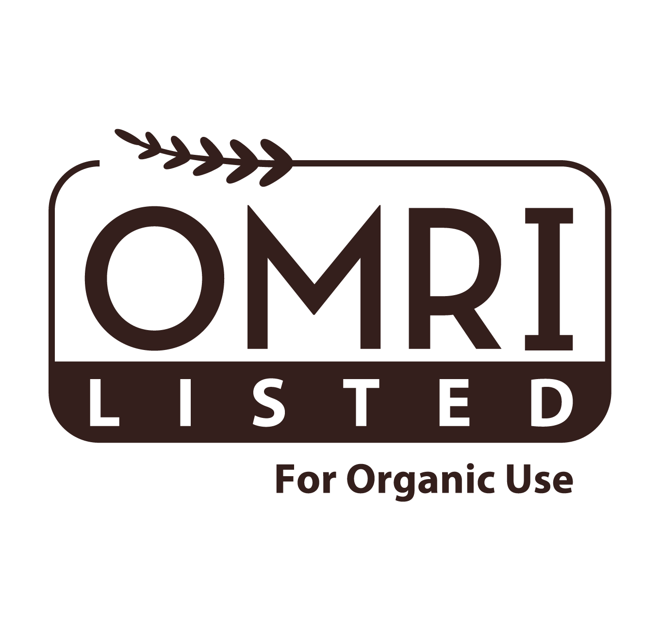 OMRI: Organic Materials Review Institute
