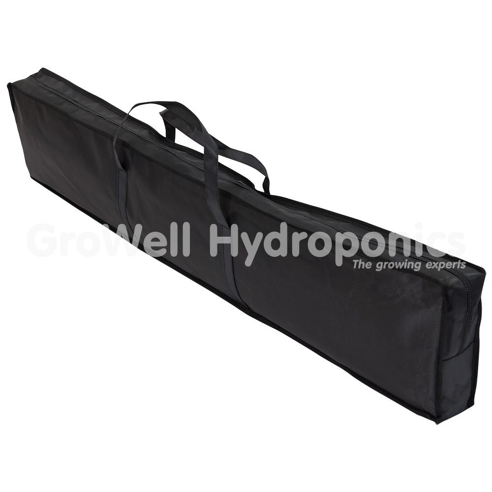 Tents pack into a handy carry case