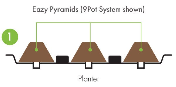 Eazy Plug Flood And Drain System - How it Works - Planter
