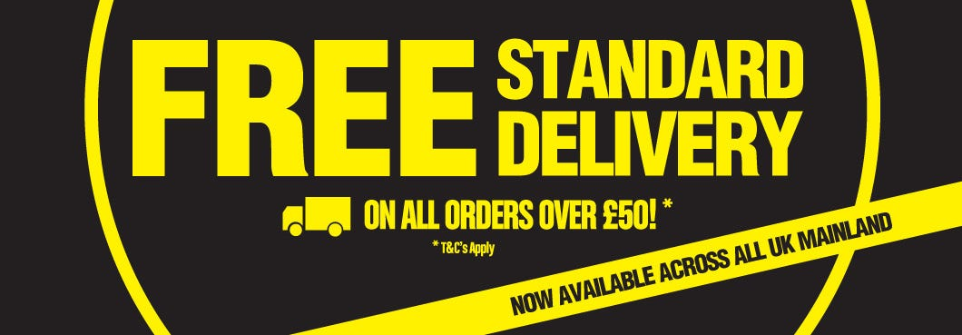 FREE Standard Delivery on all orders over £50