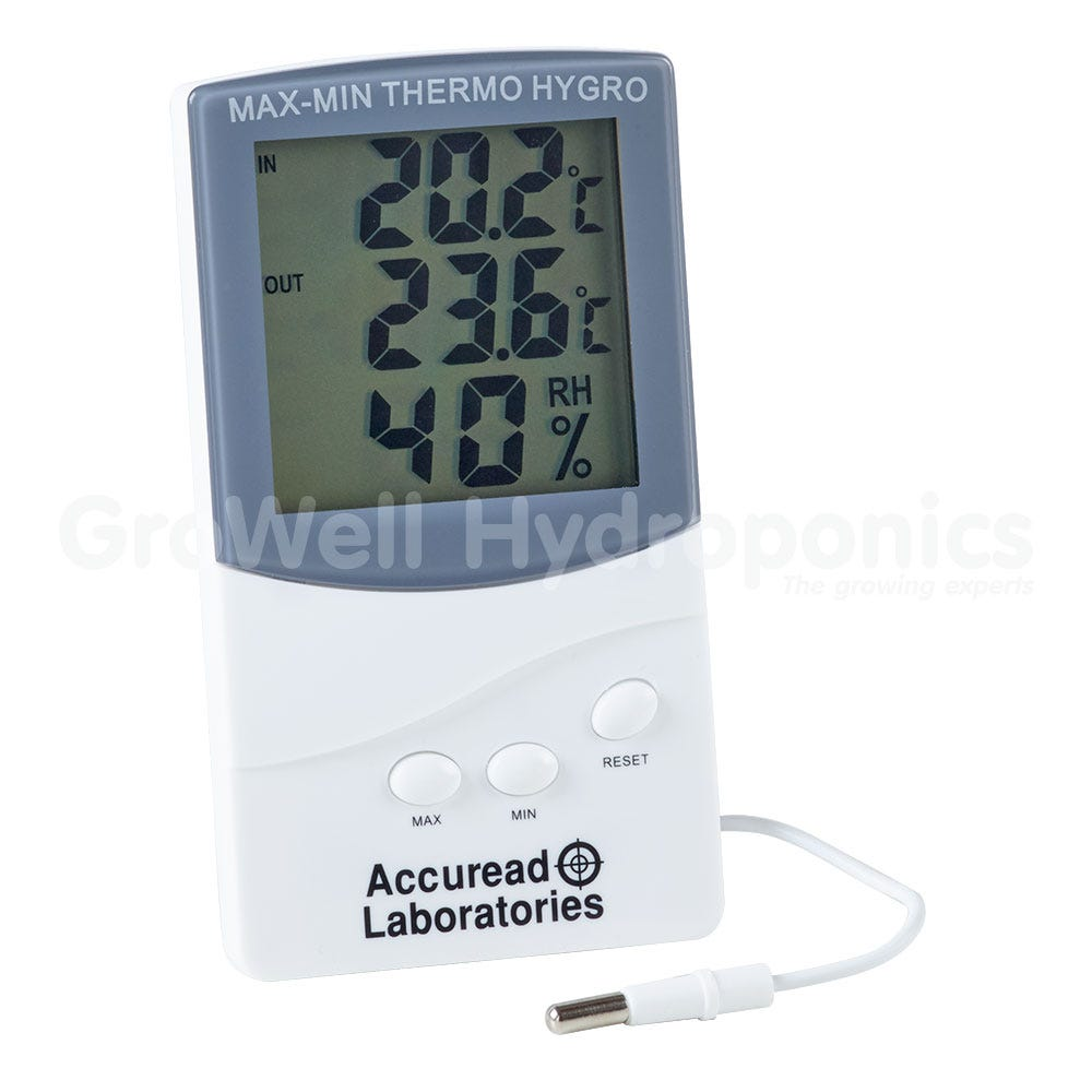Accuread temperature & humidity meter