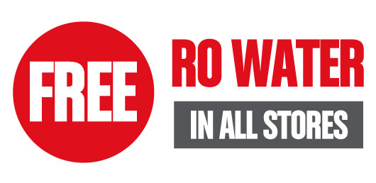 FREE RO Water in Shops