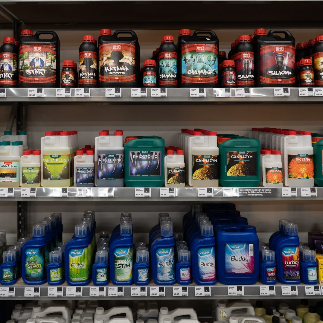 Wall of nutrients