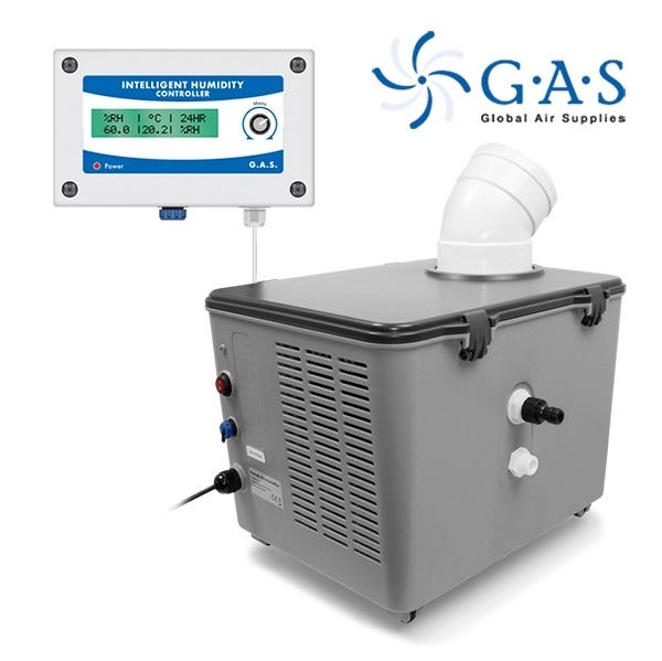 G.A.S SonicAir Pro and Intelligent Humidity Controller