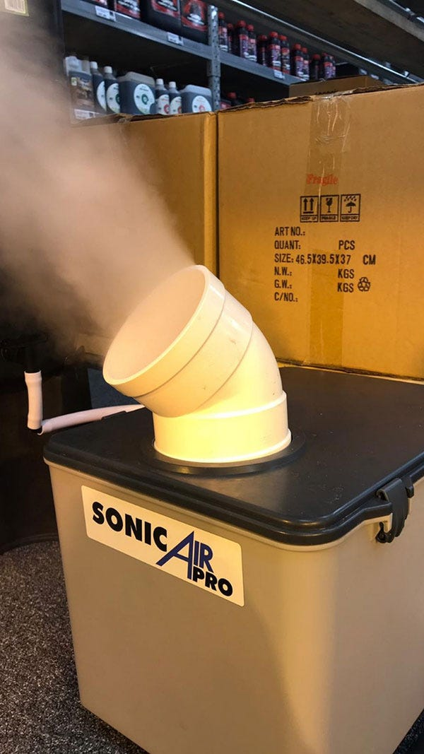 SonicAIr in store